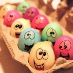Çocuklarla Yumurta Kabuğu Boyama