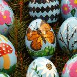 Şekilli Yumurta Kabuğu Boyama