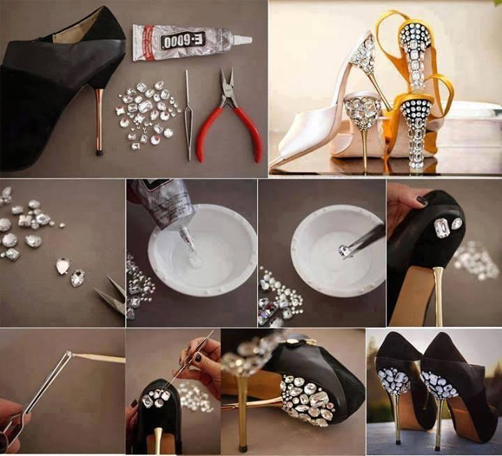 Ayakkabı Topuğu Süsleme