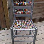 Gazoz Kapağı ile Sandalye Yenileme