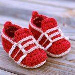 Kırmızı Bebek Patiği