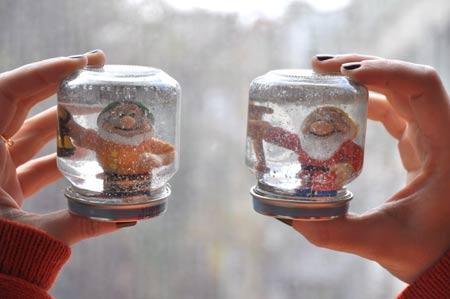 Mini Kar Küresi