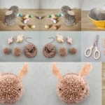 Ponpon ile Tavşan Yapımı