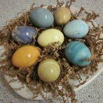 Tek Renk Yumurta Boyama