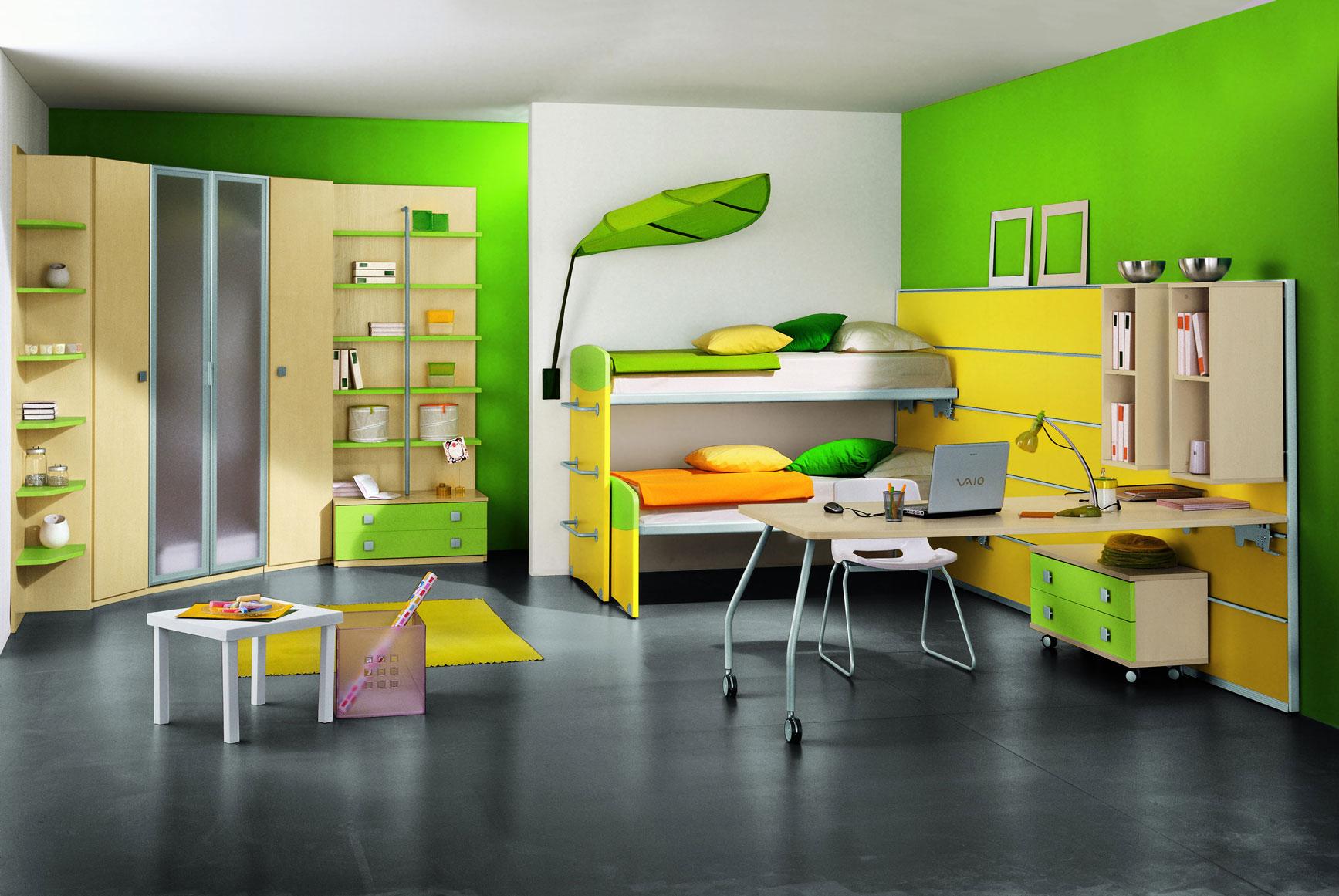 Yeşil Çocuk Odası