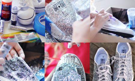 Simle Converse Ayakkabı Süsleme