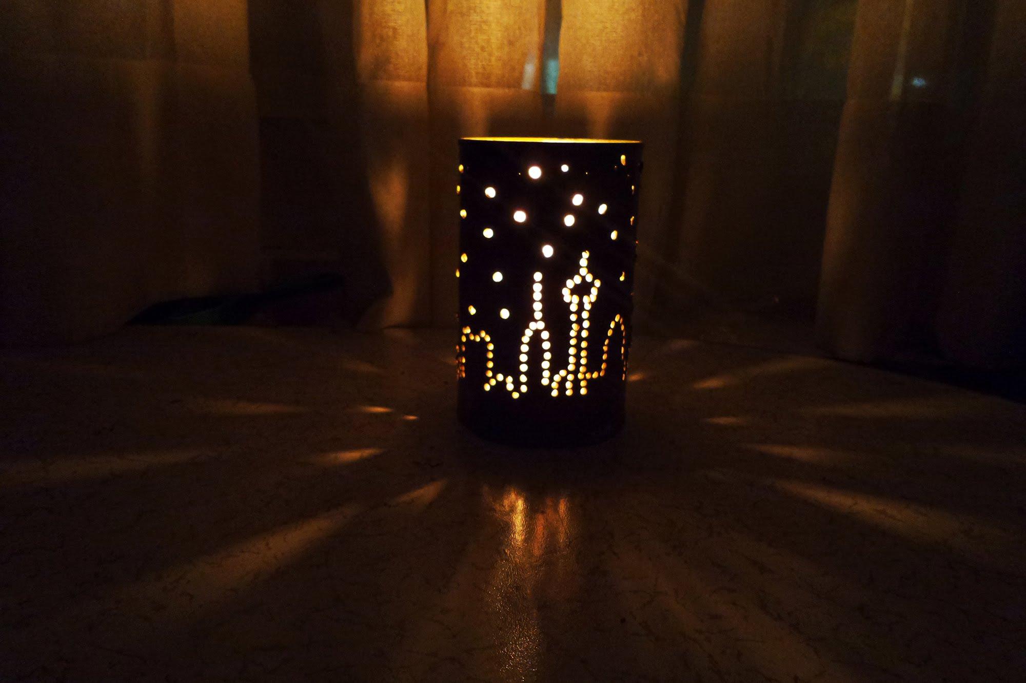 Teneke Kutu ile Dekoratif Mumluk Yapımı