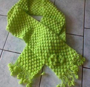 yeşil-çiçekli-çocuk-atkısı