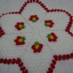 Çiçek Desenli Lif Modeli