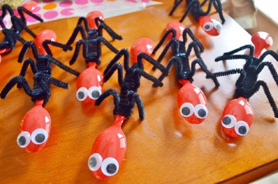 Çocuklar İçin Plastik Kaşıktan Yapılan Etkinlikler