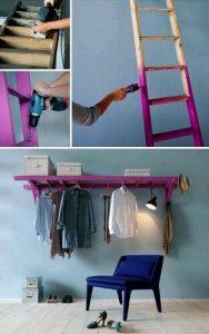 Merdivenden Elbise Askısı Yapımı