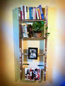 Merdivenden Kitaplık Yapımı