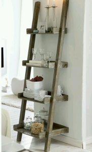 Merdivenden Mutfak Rafı Yapımı