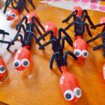Plastik Kaşıktan Sevimli Örümcek Yapımı