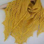 Sarı Üçgen Şal Modeli