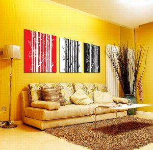Salon Dekorasyonunda Sarı Renk Kullanımı Eğlen Bizle