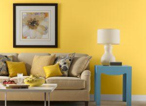 sarı-duvar-dekoru