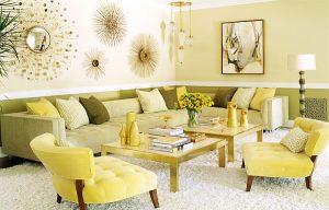 sarı-modern-dekorasyon
