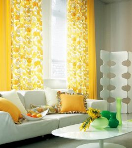 sarı-salon-dekoru
