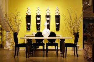 sarı-yemek-odası-dekoru