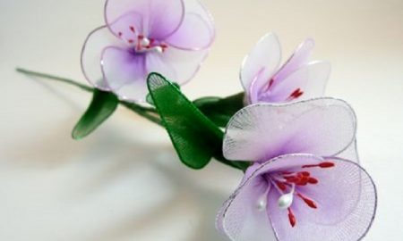 Tülden Çiçek Yapımı