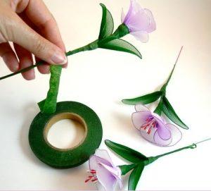 Tülden Çiçek Yapımı-5