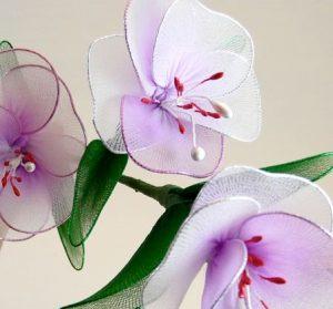 Tülden Çiçek Yapımı-6
