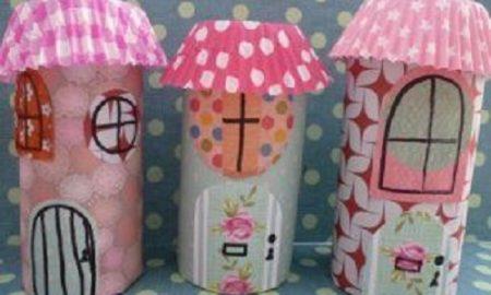 Çocuklar için Tuvalet Kağıdı Rulosu Boyama