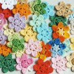 Örgü Çiçek Motifleri-3