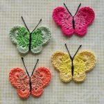 Örgü Kelebek Motifi-1
