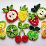 Örgü Meyve Motifleri-1