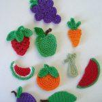 Örgü Meyve Motifleri-2