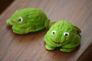 Ceviz Kabuğundan Kaplumbağa