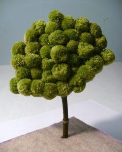 Ponpondan Ağaç Yapımı