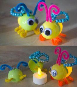 Sürpriz Yumurtadan Kelebek