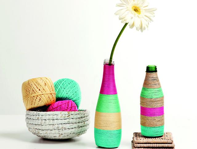 Soda Şişesinden Dekoratif Vazo Yapımı