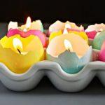 Yumurta Kabuğundan Mumluk Yapımı
