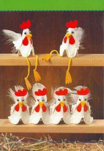 Yumurta Kolisinden Tavuk Nasıl Yapılır