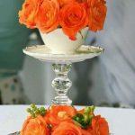 Çay Fincanından Dekoratif Vazo Yapımı