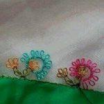 Çiçekli Yazma Oyaları