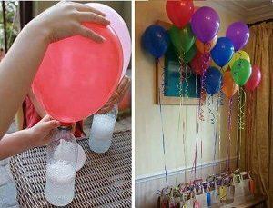 Evde Uçan Balon Yapımı Resimli Anlatım