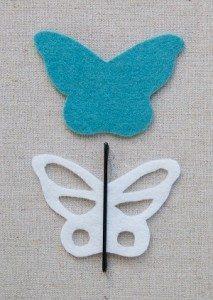 Keçeden Kelebek Yapımı-1