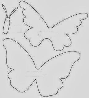 Kelebek Şablonu