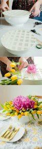 Masa Süslemesi için Dekoratif Vazo Yapımı