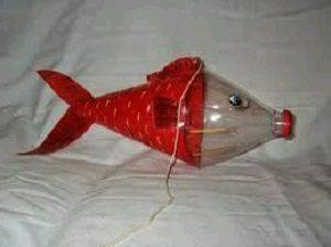 Pet Şişeden Balık Yapımı-1