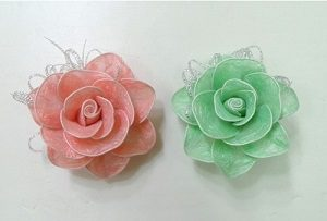 Poşetten Çiçek Yapımı-1