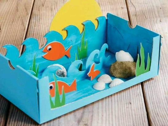 Çocuk Odası için Dekoratif Akvaryum Yapımı