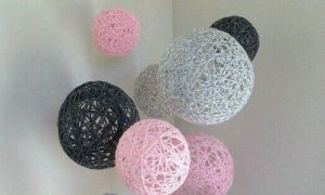 Balondan Dekoratif Süs Yapımı