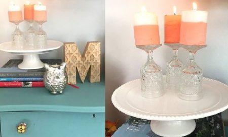 Pastel Boya ile İki Renkli Mum Yapımı