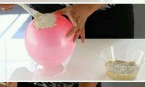 Balon ile Simli Kase Yapımı
